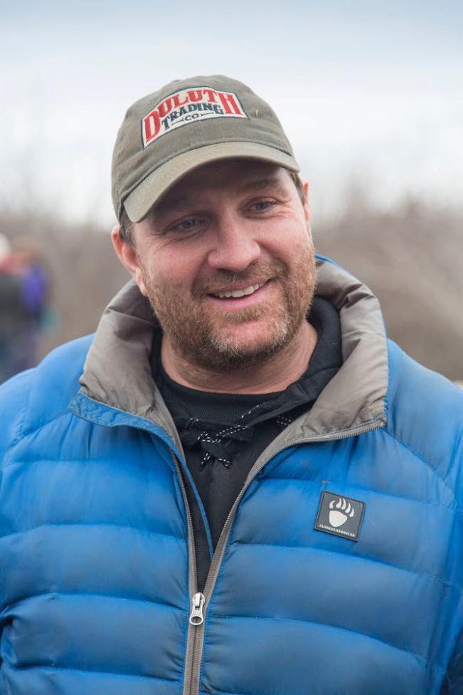 Nathan Schroeder in Alaskan Hardgear