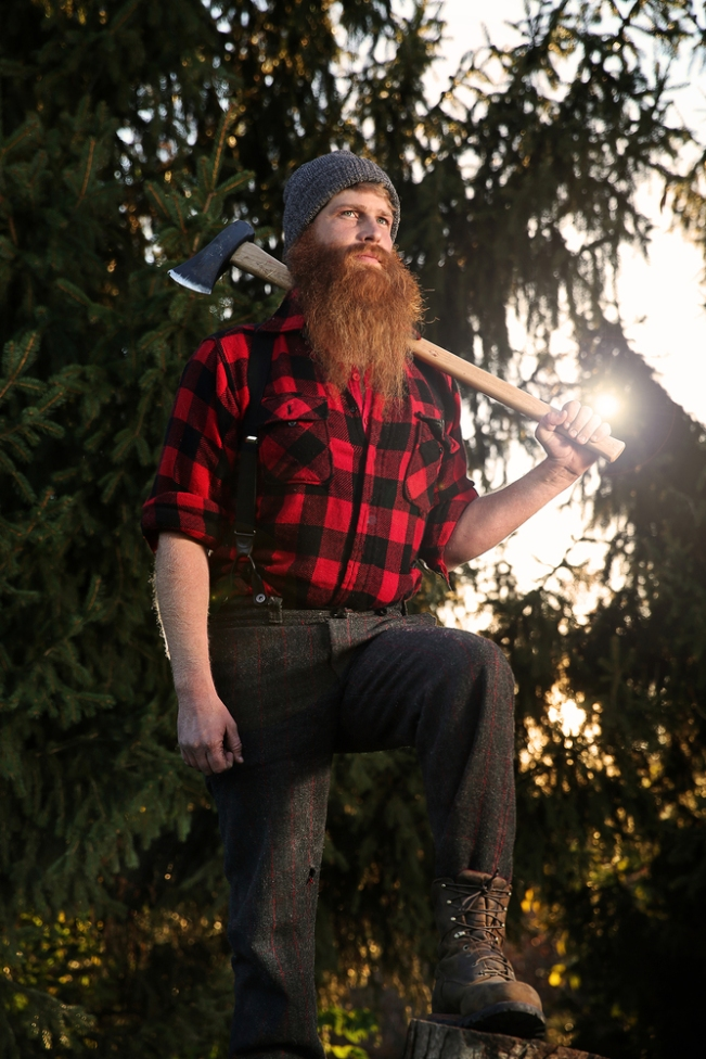 Paul Bunyan Contest Winner Tommy