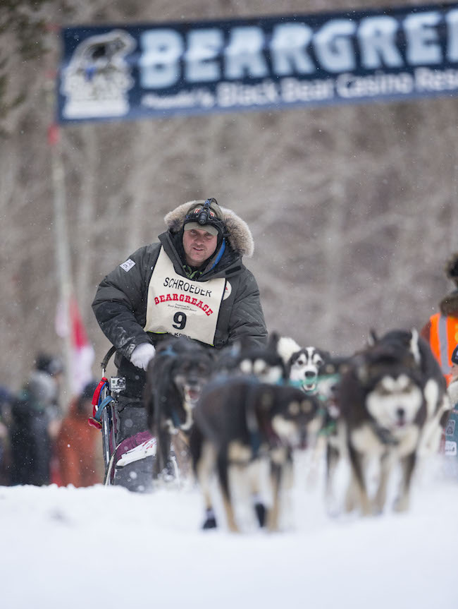 Nathan Schroeder Beargrease Start