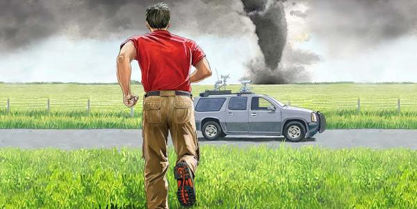 Storm Chaser Vehicle Illustration