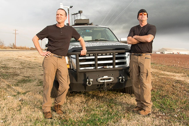 Minuteman Storm Chasers Mike Casey and Bill Ford