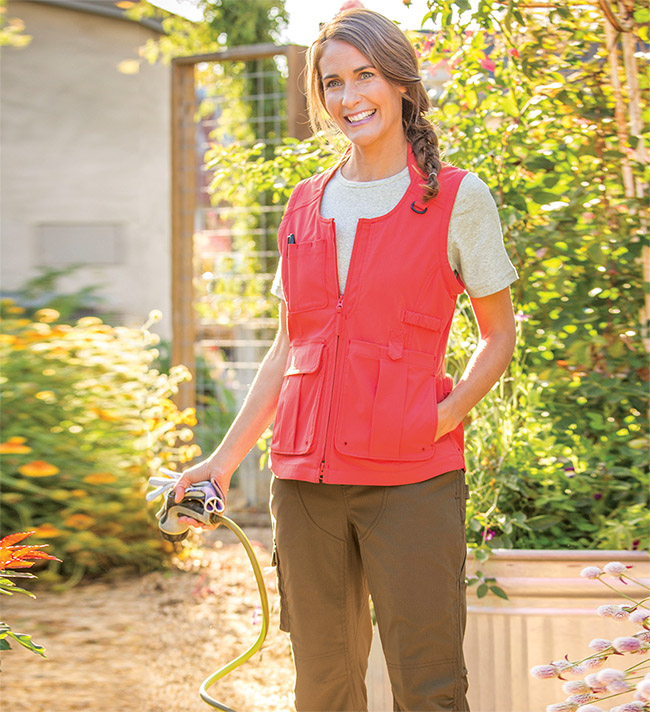Mother's Day Gifts: Heirloom Garden Vest