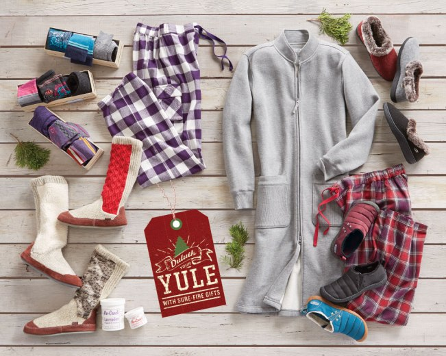 Christmas Gifts for Women: Robe, Slippers and Flannel PJs